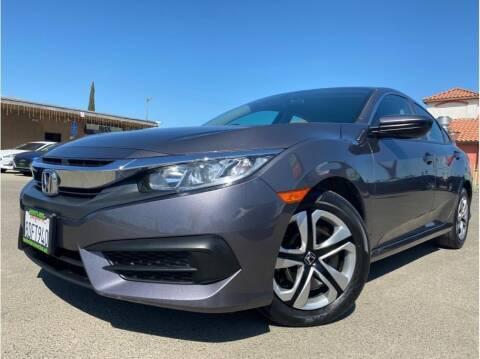 2018 Honda Civic for sale at MADERA CAR CONNECTION in Madera CA