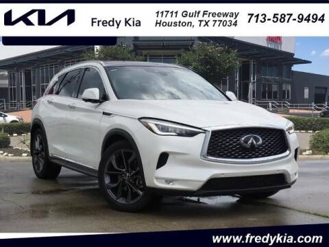 2019 Infiniti QX50 for sale at FREDY KIA USED CARS in Houston TX
