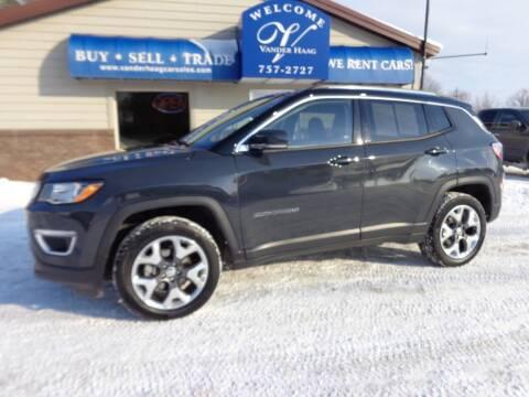 2018 Jeep Compass for sale at VanderHaag Car Sales LLC in Scottville MI