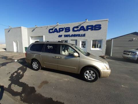 2007 Kia Sedona for sale at Caps Cars Of Taylorville in Taylorville IL