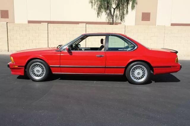 1988 BMW M6 6