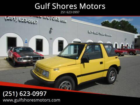 1993 GEO Tracker for sale at Gulf Shores Motors in Gulf Shores AL