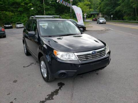 2009 Subaru Forester for sale at Apple Auto Sales Inc in Camillus NY