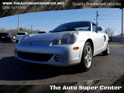 2003 Toyota MR2 Spyder for sale at The Auto Super Center in Centre AL