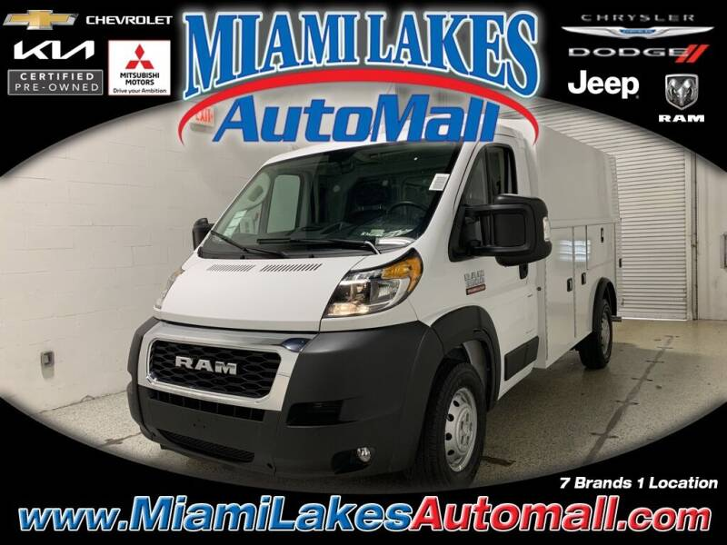 2021 RAM ProMaster Cutaway Chassis for sale in Miami, FL