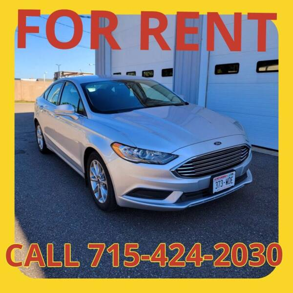 2017 Ford Fusion for sale at L & L MOTORS LLC - RENTAL INVENTORY in Wisconsin Rapids WI