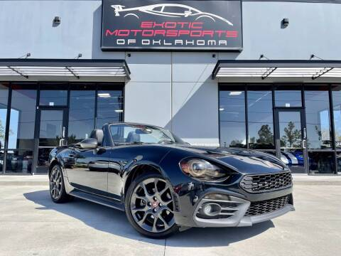 2017 FIAT 124 Spider for sale at Exotic Motorsports of Oklahoma in Edmond OK