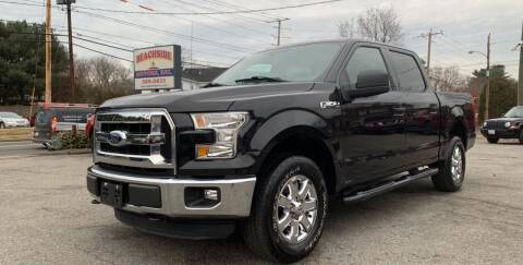 2015 Ford F-150 for sale at Beachside Motors, Inc. in Ludlow MA