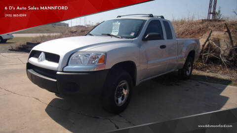 2008 Mitsubishi Raider for sale at 6 D's Auto Sales MANNFORD in Mannford OK