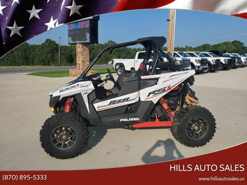 2019 Polaris Rzr 1000 for sale at Hills Auto Sales in Salem AR