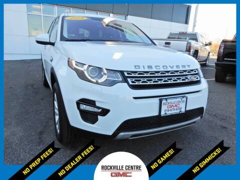 2018 Land Rover Discovery Sport for sale at Rockville Centre GMC in Rockville Centre NY