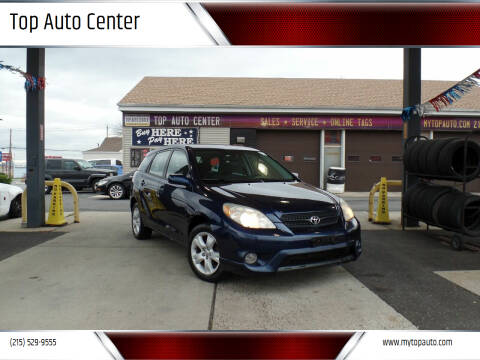 2008 Toyota Matrix for sale at Top Auto Center in Quakertown PA
