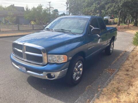 2005 Dodge Ram Pickup 1500 for sale at All Star Automotive in Tacoma WA