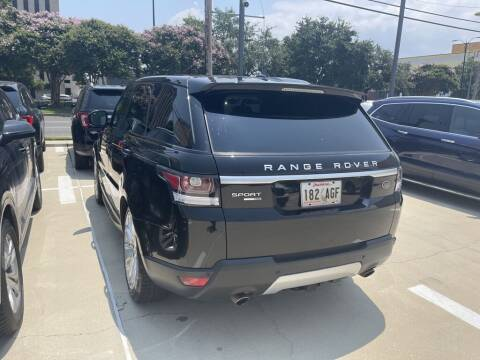 2016 Land Rover Range Rover Sport for sale at Metairie Preowned Superstore in Metairie LA