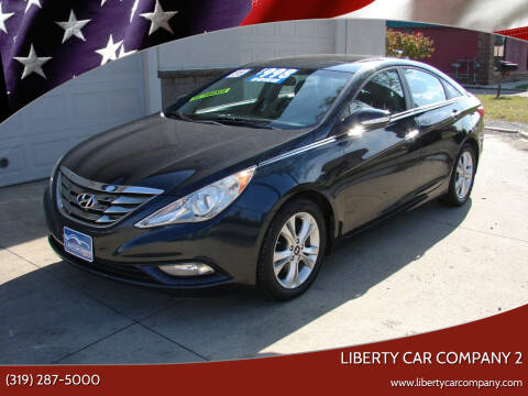 2011 Hyundai Sonata for sale at Liberty Car Company - II in Waterloo IA