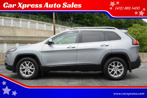 2014 Jeep Cherokee for sale at Car Xpress Auto Sales in Pittsburgh PA