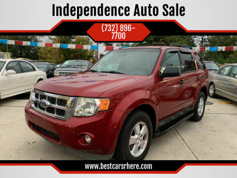 2009 Ford Escape for sale at Independence Auto Sale in Bordentown NJ