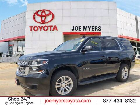 2017 Chevrolet Tahoe for sale at Joe Myers Toyota PreOwned in Houston TX
