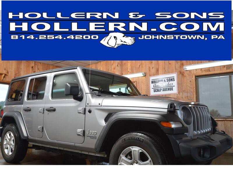 2019 Jeep Wrangler Unlimited for sale at Hollern & Sons Auto Sales in Johnstown PA