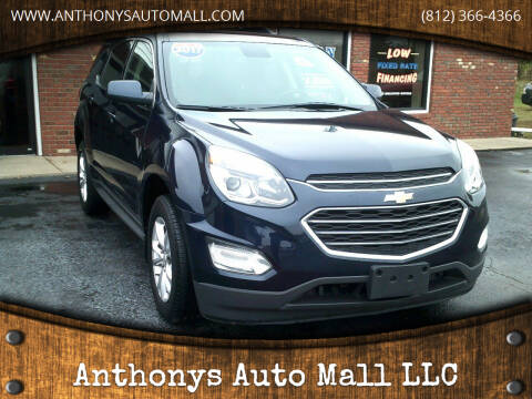 2017 Chevrolet Equinox for sale at Anthonys Auto Mall LLC in New Salisbury IN