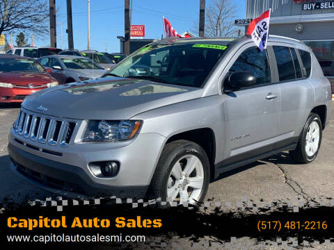 2016 Jeep Compass for sale at Capitol Auto Sales in Lansing MI