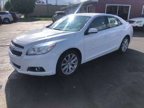 2013 Chevrolet Malibu for sale at N & J Auto Sales in Warsaw IN