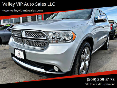 2011 Dodge Durango for sale at Valley VIP Auto Sales LLC in Spokane Valley WA