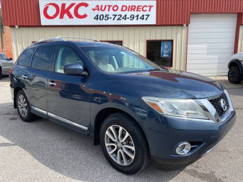 2014 Nissan Pathfinder for sale at OKC Auto Direct in Oklahoma City OK