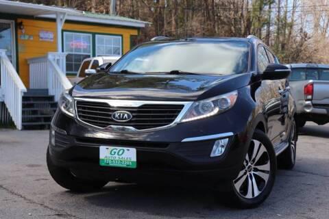 2012 Kia Sportage for sale at Go Auto Sales in Gainesville GA