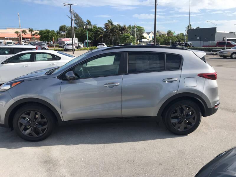 2022 Kia Sportage for sale at Key West Kia in Key West FL
