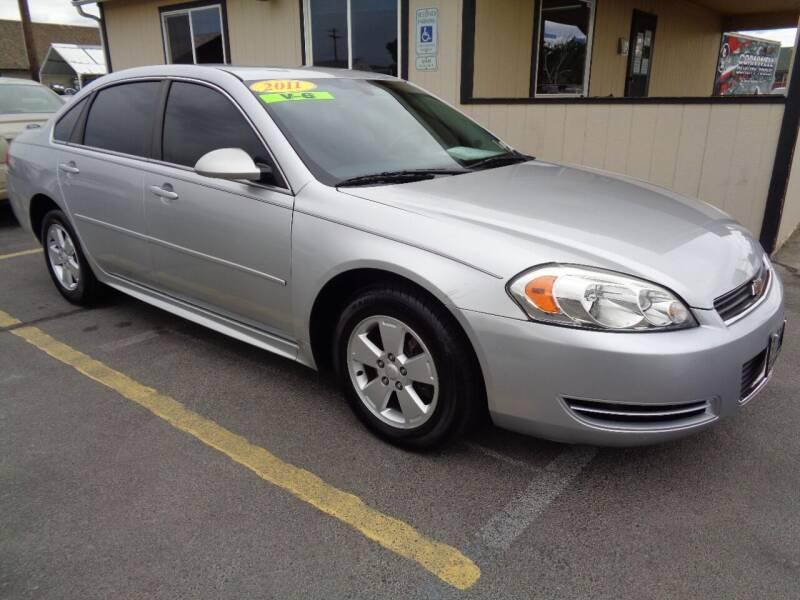 2011 Chevrolet Impala for sale at BBL Auto Sales in Yakima WA