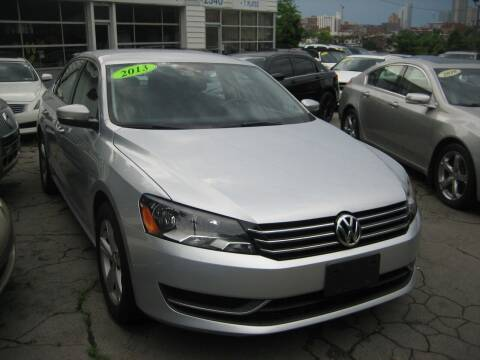 2013 Volkswagen Passat for sale at B. Fields Motors, INC in Pittsburgh PA