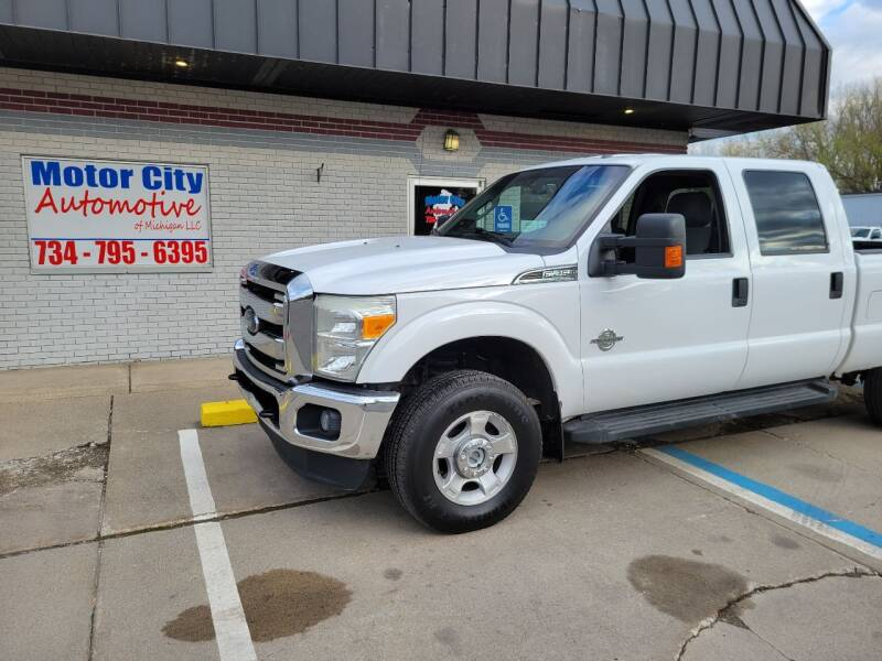 2016 Ford F-250 Super Duty for sale at Motor City Automotive of Michigan in Flat Rock MI