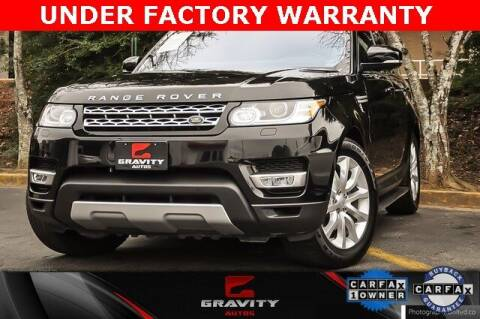 2017 Land Rover Range Rover Sport for sale at Gravity Autos Atlanta in Atlanta GA