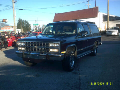 1991 Chevrolet Suburban for sale at M & M Inc. of York in York PA