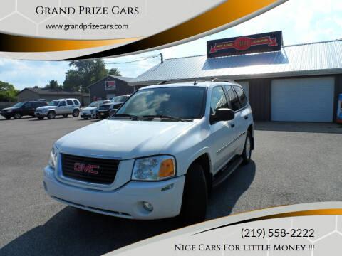 2008 GMC Envoy for sale at Grand Prize Cars in Cedar Lake IN