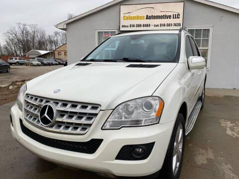 2009 Mercedes-Benz M-Class for sale at COLUMBUS AUTOMOTIVE in Reynoldsburg OH