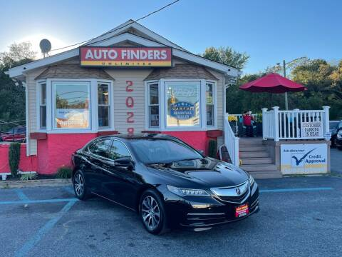 2017 Acura TLX for sale at Auto Finders Unlimited LLC in Vineland NJ