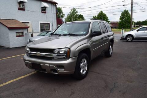 2002 Chevrolet TrailBlazer for sale at L&J AUTO SALES in Birdsboro PA