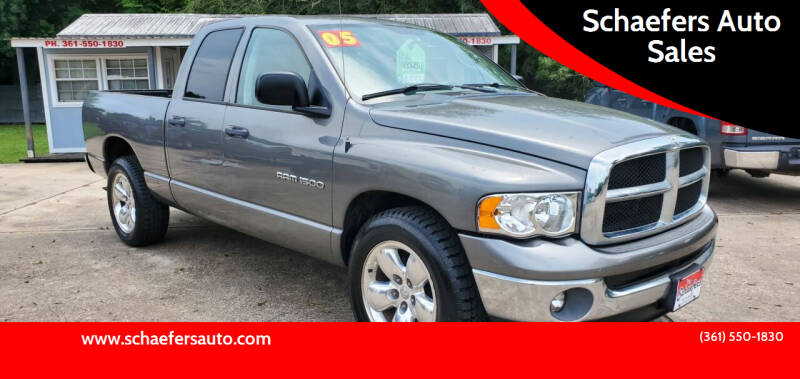 2005 Dodge Ram Pickup 1500 for sale at Schaefers Auto Sales in Victoria TX