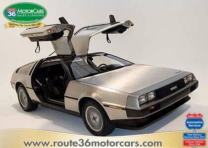 1981 DeLorean DMC-12 for sale at ROUTE 36 MOTORCARS in Dublin OH