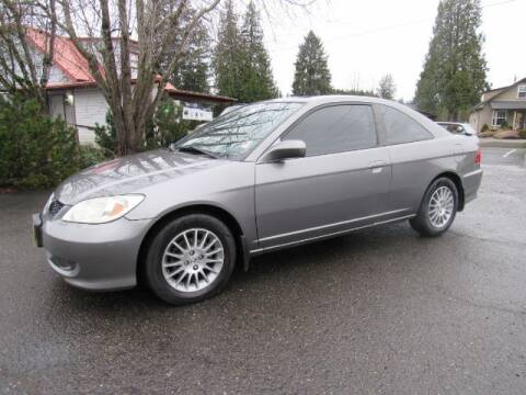 2005 Honda Civic for sale at Triple C Auto Brokers in Washougal WA