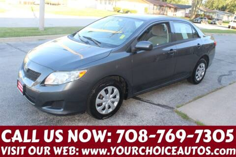 2010 Toyota Corolla for sale at Your Choice Autos in Posen IL