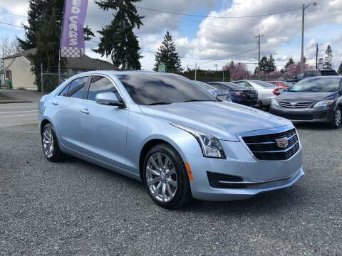 2017 Cadillac ATS for sale at A & V AUTO SALES LLC in Marysville WA