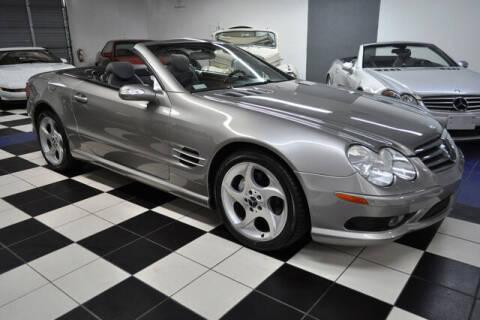 2004 Mercedes-Benz SL-Class for sale at Podium Auto Sales Inc in Pompano Beach FL