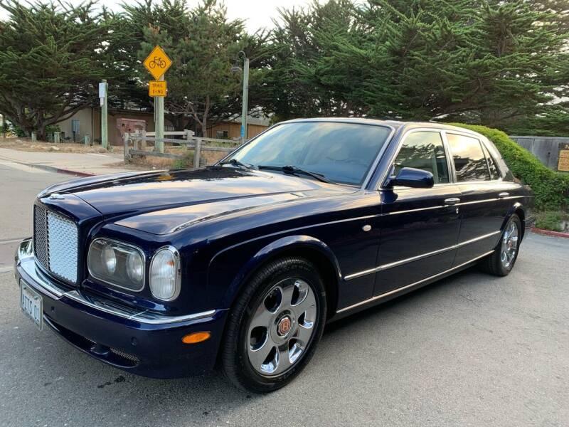 2002 Bentley Arnage for sale at Dodi Auto Sales in Monterey CA