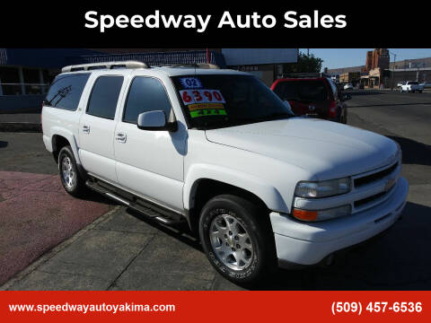 2002 Chevrolet Suburban for sale at Speedway Auto Sales in Yakima WA