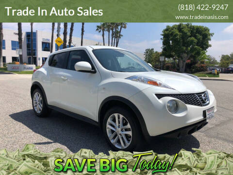 2013 Nissan JUKE for sale at Trade In Auto Sales in Van Nuys CA