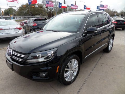 2012 Volkswagen Tiguan for sale at West End Motors Inc in Houston TX
