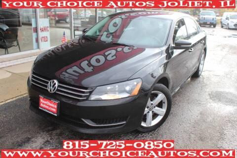 2013 Volkswagen Passat for sale at Your Choice Autos - Joliet in Joliet IL